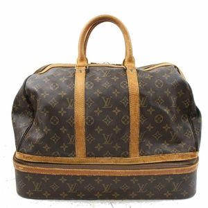 Auth Louis Vuitton Sac Sport Travel Bag #849L24